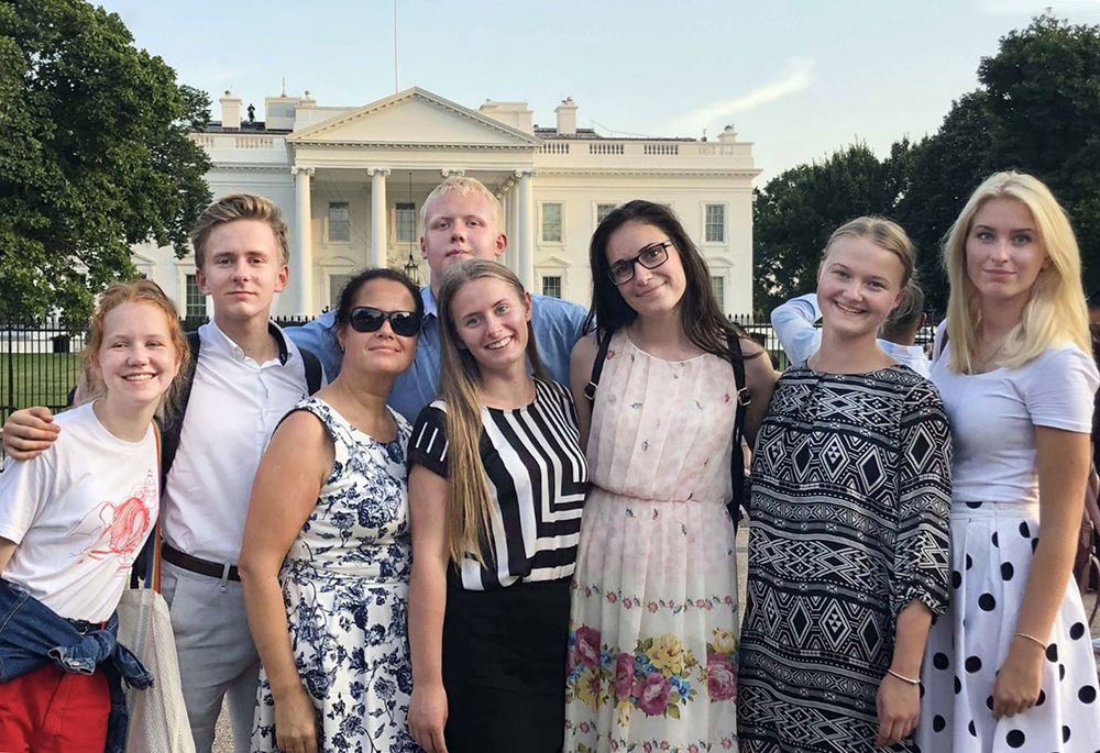 What is your dream career?Program participants visit Washington DC.