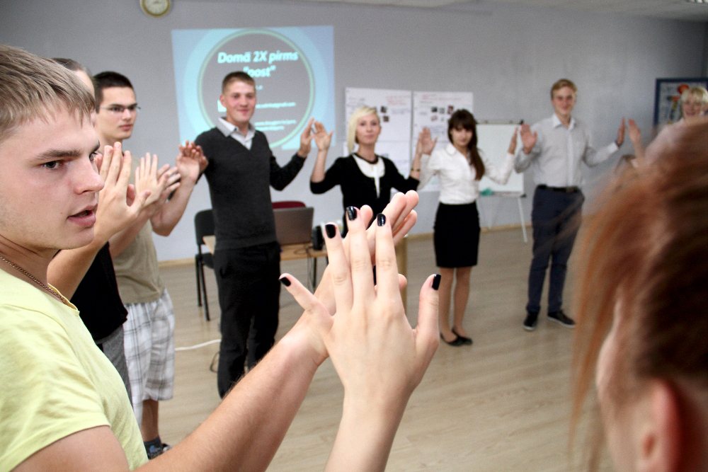 Social media training in Ludza