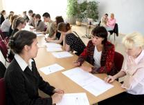 Job interview workshop in Ludza