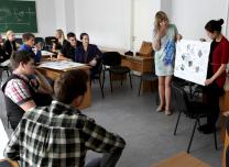 Career modeling workshop at the Ventspils University