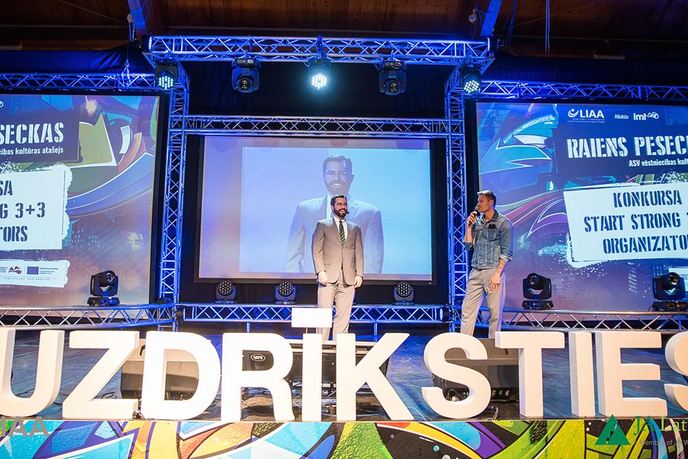 Programmas koordinators Raiens Roberts izsludina jauno Start Strong 3+3 konkursu